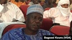 Tinni Ousséini, du Pnds, a été élu nouveau président de l'Assemblée Nationale, Niamey, 24 mars 2016 (VOA/Bagassi Koura)