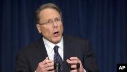 The National Rifle Association executive vice president Wayne LaPierre (2012 photo)