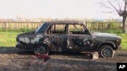 Azerbaycan televizyonlarına çatışmalar sonrası yansıyan görüntüler