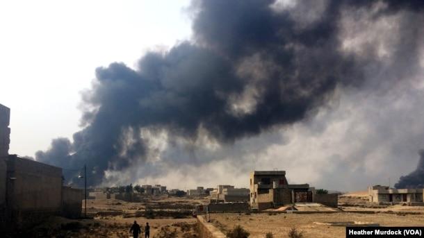 QAYYARAH, IRAQ