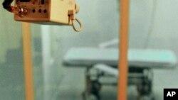 Phòng tử hình bằng tiêm thuốc độc ở Varner, Arkaansas.