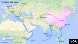 U.S. Vision for New Silk Road
