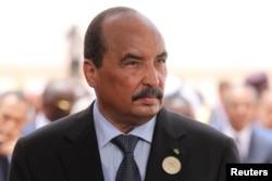 محمد ولد عبدالعزیز، رئیس جمهور موریتانی