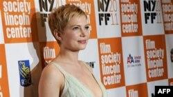 "Glumica Mišel Vilijams na premijeri filma ""Moja nedelja sa Merlin"" na filmskom festivalu u Njujorku."