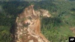 پاپوا نیو گنی میں مٹی کا تودہ گرنے سے 40 ہلاک