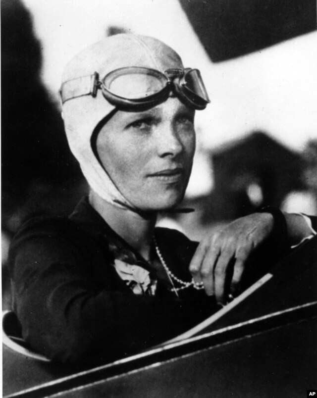 An undated photo of Amelia Earhart. Three bone fragments found on a South Pacific island could help prove that Earhart died as a castaway after failing in her quest to circumnavigate the globe.