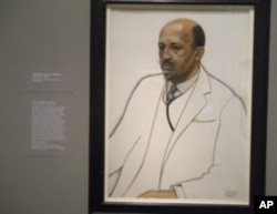 W.E.B. Du Bois, pastel on paper, by Winold Reiss (National Portrait Gallery- Smithsonian Institution)