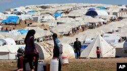敘利亞難民分佈在不同地區