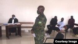 Major Gaudefrey Mudaheranwa mu rukiko rwa gisirikari