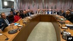 به تازگی وزرای خارجه آمریکا و ایران در حاشیه نشستی در نیویورک با هم دیدار داشته اند.
