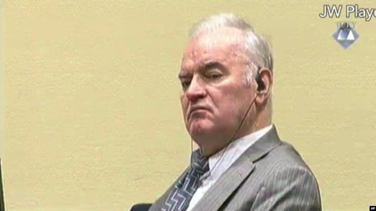Të mërkurën aktgjykimi për Ratko Mladiçin