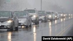 کاهش شدید دما در دنور، ایالت کلرادو