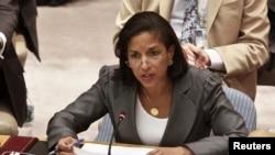 美國駐聯合國大使賴斯 (資料圖片)