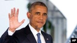 عکس آرشیوی از باراک اوباما رئیس جمهوری ایالات متحده - ۱ مرداد ۱۳۹۴