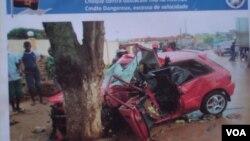 Angola Malanje car aciddents - acidentes de viação em Malanje
