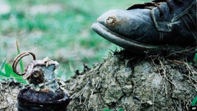 Một quả mìn bẫy (ảnh minh họa).