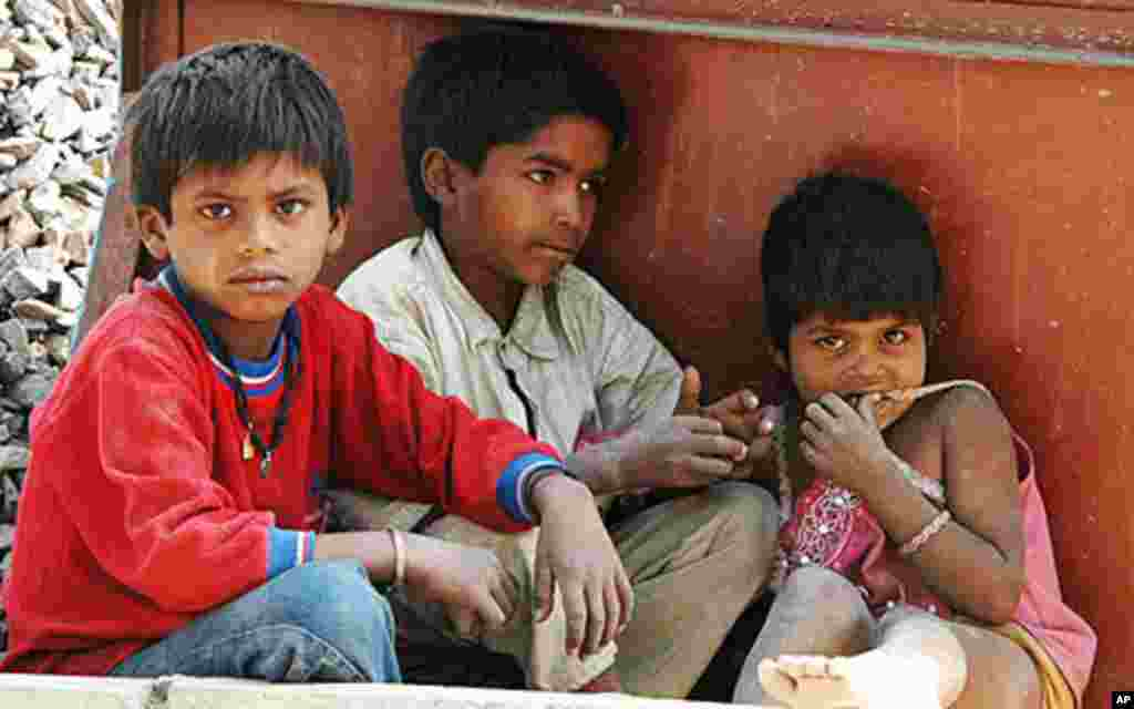Construction for Commonwealth Games Takes Toll on India's Children