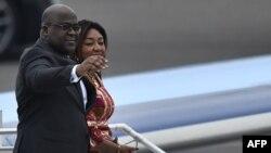 Félix Tshisekedi en Belgique pour sa première visite officielle