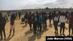 Desalojados em Benguela protestam contra loteamento de terrenos