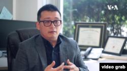 密西根大學迪爾伯恩分校研究產業鏈管理的助理教授高達偉。(視頻截圖)
