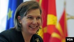 Jurubicara Departemen Luar Negeri Amerika, Victoria Nuland (Foto: dok).