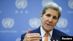 Le secrétaire d'Etat américain John Kerry
