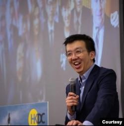 华盛顿倡议团体香港民主委员会执行总监朱牧民