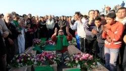 خاکسپاری صد کشته لیبی در ترابلس