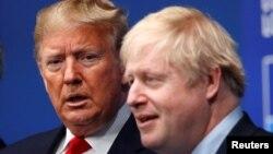 Дональд Трамп и Борис Джонсон (архивное фото)