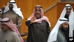 Kuwait's Interior Minister Sheikh Jaber Al-Khalid Al-Sabah (file photo)
