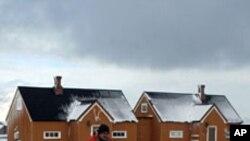 挪威北极圈地区的冬日景象(资料照片)