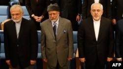 آقای خرازی (چپ) مشاور ویژه رهبر جمهوری اسلامی ایران است