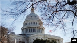 图为美国国会大厦资料照