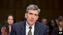 El vicedirector de la NSA, John C. Inglis, durante su testimonio en el Congreso.