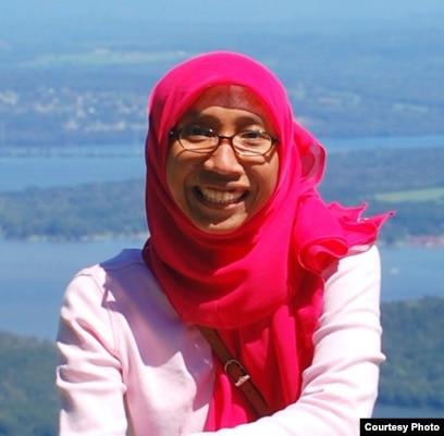 Befrika Murdianti, profesor bidang kimia di AS (dok: Befrika Murdianti)