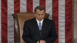 House Speaker Boehner Re-elected Despite Dissent from Republican Caucus