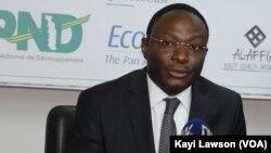Eric Tamandja à Lomé, le 6 juin 2019. (VOA/Kayi Lawson)