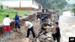 한국 기상청 북한 날씨 예보관들