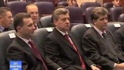 Presidenti i Maqedonisë flet në parlament