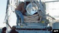 Лазерная установка американской компании Raytheon