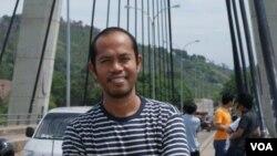 Muhammad Nasir Badu Ph.D., pengamat hubungan internasional dari Universitas Hasanuddin Makasar (Foto: VOA/Nurhadi)