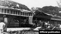 ၁၉၈၃ခုနွစ္ ေအာက္တိုဘာလ (၉)ရက္ေန႔က အာဇာနည္ဗိမာန္ ဗံုးခဲြတိုက္ခိုက္ခံရစဥ္