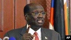 Menteri Penerangan Sudan Selatan, Barnaba Marial Benjamin (Foto: dok).