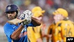 Tuyển thủ Ấn Độ trong 1 trận đấu của giải vô địch cricket thế giới