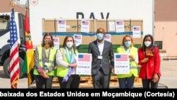 Doação de 336 mil doses de vacinas dos Estados Unidos a Moçambique, Maputo, 24 de Setembro de 2021