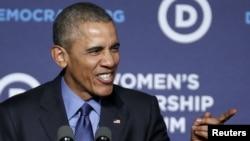 Durante foro el presidente Barack Obama dijo estar orgulloso del debate de los precandidatos demócratas a la presidencia.