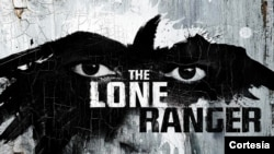 The Lone Ranger is an iconic U.S. character in books, comics, radio, television and movies. His calling card is a silver bullet. (FILE PHOTO)
