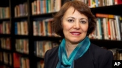 This undated photo made available by Amanda Ghahremani, shows retired Iranian-Canadian professor Homa Hoodfar. A Tehran prosecutor said Monday, July 11, 2016, that Hoodfar, who is a retired professor at Montreal's Concordia University, is among four people with foreign ties indicted on unknown charges in the Islamic Republic. Iran does not recognize dual nationalities.