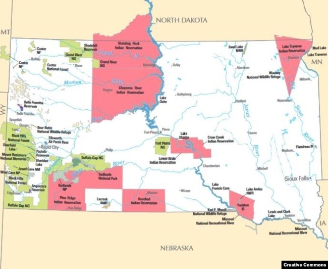 Native American Tribes Fighting High Prices Poor Food Quality - Us indian reservations map