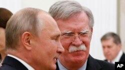Ông Bolton là người có lập trường cứng rắn đối với Nga